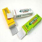 Simplefirst Shocking Gum, funny Shock Gag Elektro-Shocking Pull-Kopf Kaugummi (zufällige Farbe, 1Pcs)