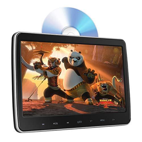 "10.1"" Kopfstütze DVD Player Auto 1080P HD, DVD Player Tragbare mit Touchkey, Automatik-Top-Lade Antrieb, unterstützt-CD/DVD /USB/TF/MP4, Sync-Wiedergabe"