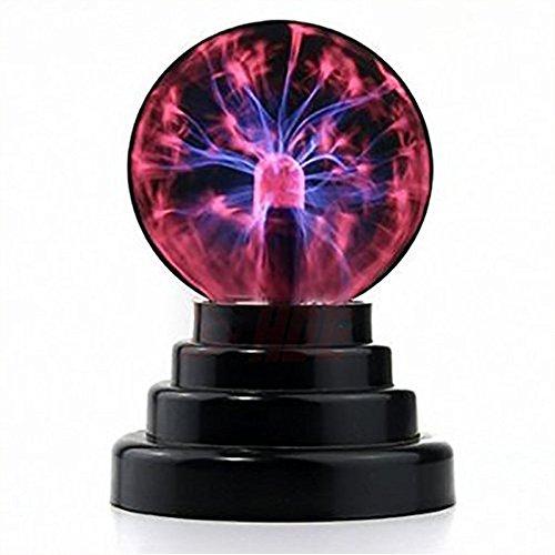 Luz lámpara bola plasma [Sensible tacto] Juguete