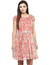 SWAGG Women's A Multicolor Line Dress