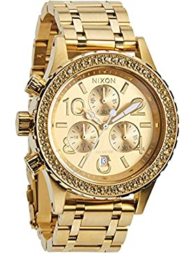 Nixon Damen-Armbanduhr 38-20 Chrono Chronograph Quarz Edelstahl A4041520-00