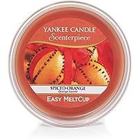 Yankee Candle MeltCup Scenterpiece Epicée Plastique/Cire Orange 8,5 x 8,5 x 3,5 cm