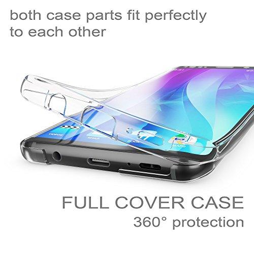 Per Samsung Galaxy S9 Plus Nuovo Trasparente Nero Gel Custodia Cover Telefono