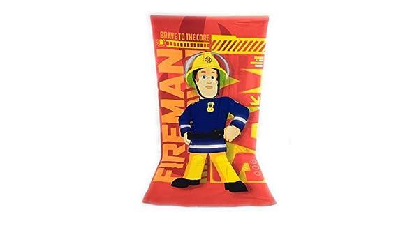Sam le Pompier Serviette de plage Drap de plage en microfibre 70x140 cm Fireman sam