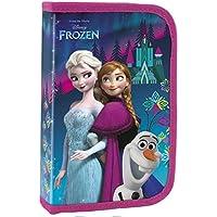Disney Frozen Eiskönigin Federmappe Federtasche Etui 2 Fächer mit 26 Teilen NEU