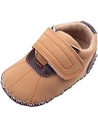 V-SOL Zapatos de Bebé infantil Primero Pasos Sin Cordones Antideslizante