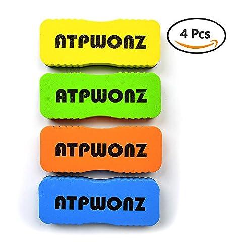 ATPWONZ Projet de jeu tableau blanc magnétique Nettoyant de nettoyage pour les marqueurs effaçables stylos et couleurs aléatoires secs (4 paquets)