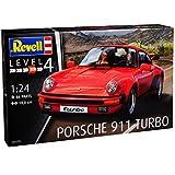 Porsche 911 Turbo Coupe Rot G-Modell 1973-1989 07179 Bausatz Kit 1/24 Revell Modell Auto