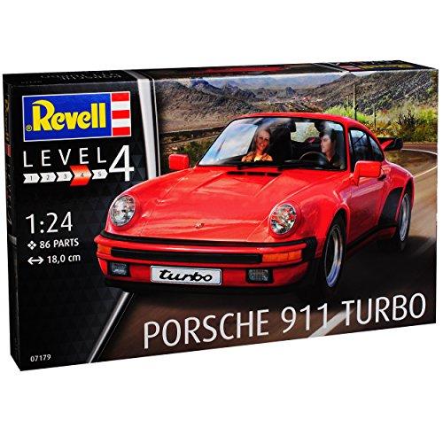 Modell Porsche 911 Turbo (Porsche 911 Turbo Coupe Rot G-Modell 1973-1989 07179 Bausatz Kit 1/24 Revell Modell Auto)