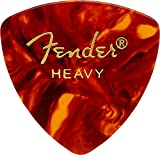 Fender 098-0346-900 346 Shape Picks,  Lot de 12 médiators, Ecaille, Heavy
