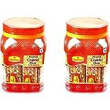 Haldiram's Nagpur Peanut Chikki Jar (Pack of 2)