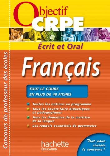 CRPE en fiches : Français