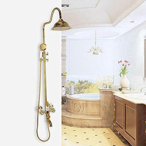 NHD-Shower Kit, titanium Jin Longtou shower, shower, rain shower shower