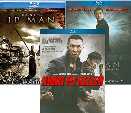 Donnie Yen Collection: Ip Man / Ip Man 2: Legend of the Grandmaster / Kung Fu Killer