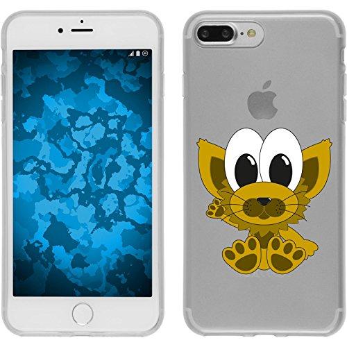 PhoneNatic Case für Apple iPhone 8 Plus Silikon-Hülle Cutiemals M6 Case iPhone 8 Plus Tasche + 2 Schutzfolien Design:07
