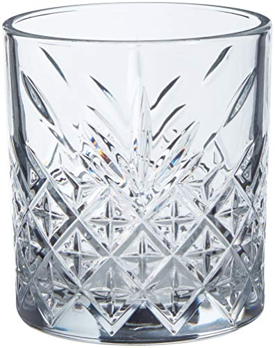 Pasabahce Set 4 Bicchieri Timeless Acqua 34,5 Arredo Tavola, Vetro, Trasparente
