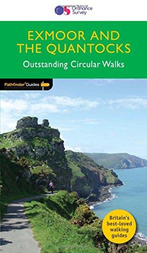 Exmoor & the Quantocks Outstanding Circular Walks (Pathfinder Guides)