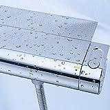 Grohe Grohtherm 2000   Brause- und Duschsysteme - Brausethermostat   Grohe EasyReach Ablage   34469001 Vergleich