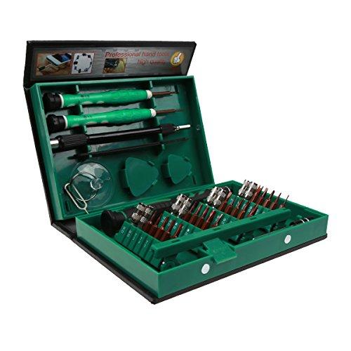 Preisvergleich Produktbild Präzisions-Schraubendreher-Set, von Ideapro, magnetisch, S2, Edelstahl, Reparaturwerkzeug für iPad, iPhone, Tablets, Laptops, PC, Smartphones, Uhr