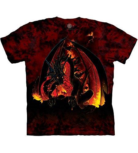 The Mountain Fireball T-Shirt - Rot - Groß -