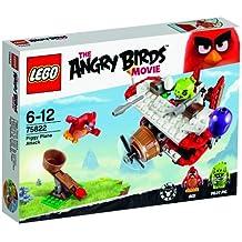 LEGO Angry Birds- Ataque en el avión de los cerdos, juego de construccion (75822)