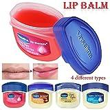 4x Vaseline Lip Therapy - Rosy Lips, Cocoa Butter, & Original -USA-