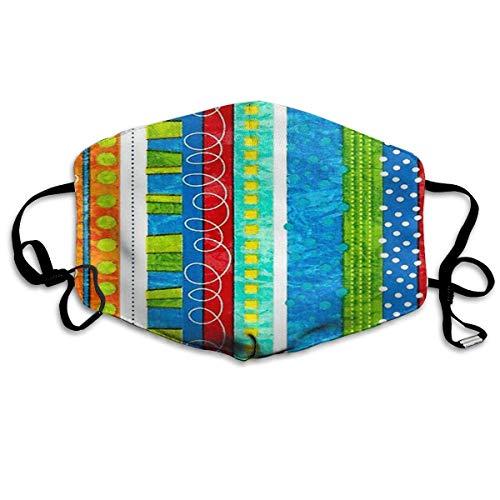 Desing shop Bug's Life Funky Stripe Non-Toxic Dust & Filter Safety Masks Funky Winter Ski