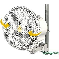 Ventilateur circulateur d'air oscilant 17cm 20W Secret Jardin (Monkey Fan MFO20)
