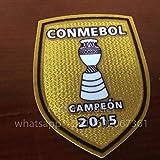 Generic 2015 America Champion Chile Copa Fußball-Patch Chile Nationalmannschaft Champion Patch Abzeichen frei Schiff: 5 Stück