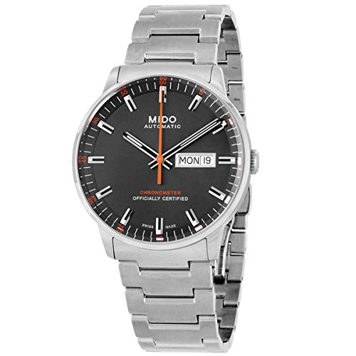 Mido Herren Analog Automatik Uhr mit Edelstahl Armband M0214311106101