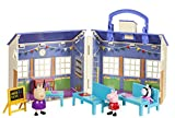 Peppa Pig School House Playset Figures Toys by