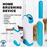 HS-STORE's Double Sided Electrostatic Lint Remover for Cloths and pet Brush (Assorted Color)