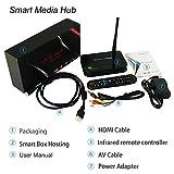 YUNTAB Octa-Core Android 5.1 RK3368 CPU Smart TV Box (MINI PC), 2160P salida Full HD HDMICON Quad-Core Mail-T6X series GPU 2GB RAM, 16GB ROM,HDMI, DLNA WIFI,RJ45,3D,Bluetooth 4.0