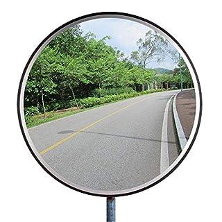 Forever Speed Überwachungsspiegel Sicherheitsspiegel Panoramaspiegel Konvex Verkehrsspiegel Polycarbonat (Noir)