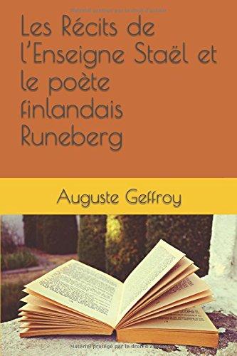 Les Rcits de lEnseigne Stal et le pote finlandais Runeberg