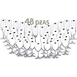 CRISTALERÍA DE BOHEMIA 48 PIEZAS
