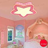 SED Plafoniera a soffitto a luce di cinque piani - lampada a sospensione a soffitto a soffitto a soffitto - lampada a sospensione a soffitto,Oscillazione Promise Pink-S-LED36W