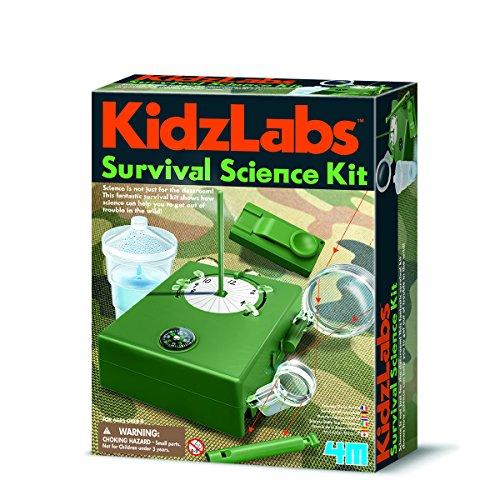 4M- Kidzlabs Kit de Supervivencia, (403395)