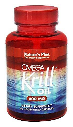 Nature's Plus - Omega Krill Oil 600 mg - 60 Liquid Capsules