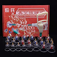 Schröpfen Set Chinesisches Schröpfen-Therapie-Set, 24 Vakuum-Luft-Saugnäpfe Mit Dem Pumpen-Griff, Nass/Trocken... preisvergleich bei billige-tabletten.eu