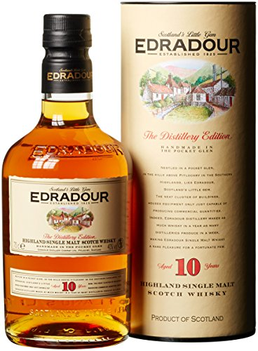 edradour whisky Edradour 10 Jahre Highland Single Malt Whisky (1 x 0.7 l)