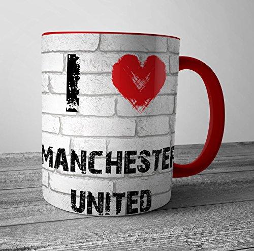 I Love Manchester United Mug