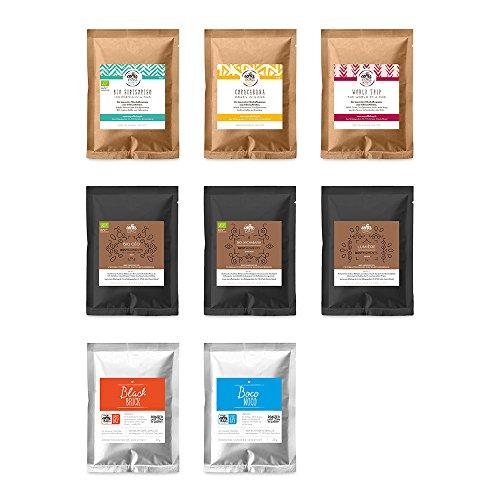 Taste-Box mycoffeebag mit allen Sorten | Premium Filter Kaffee der schmeckt | Geschenke Box mit 13 Coffeebags aus 100% Arabica Bohnen | schonenste Röstung von Hand (Geschenk-körbe Schokolade)