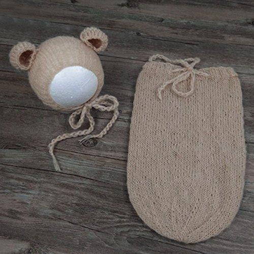 Jungen Kostüm Asian - Merssavo Farbe 1 Neugeborene Fotografie Requisiten Infant Kostüm Outfit Baby Stricken Mohair Requisiten Kleidung