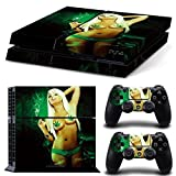 Consoles Ps4 Best Deals - Golden PS4 Console and Controller Vinyl Skin Decal Pot Weed/Naked Girl