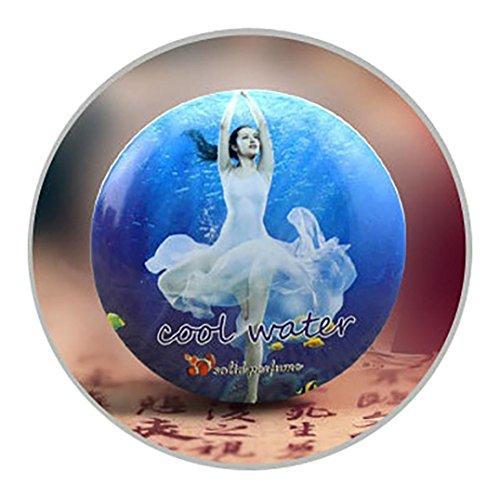Preisvergleich Produktbild samLIKE 1 STÜCK Magic Solid Parfüm für Männer oder Frauen 18 Arten von Duft Alkoholfreie 15g (O)