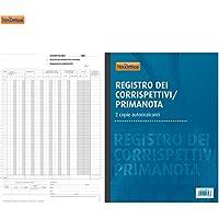 Registro Dei Corrispettivi Prima Nota 2 Copie Autoricalcanti A4 Cancelleria NickOffice