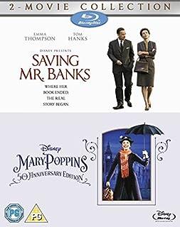 Saving Mr Banks & Mary Poppins [Blu-ray] [Region Free] by Emma Thompson