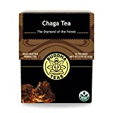 Chaga Tea - Powerful Antioxidants, Wild Harvested, Caffeine-Free - 18 Bleach-Free Te..