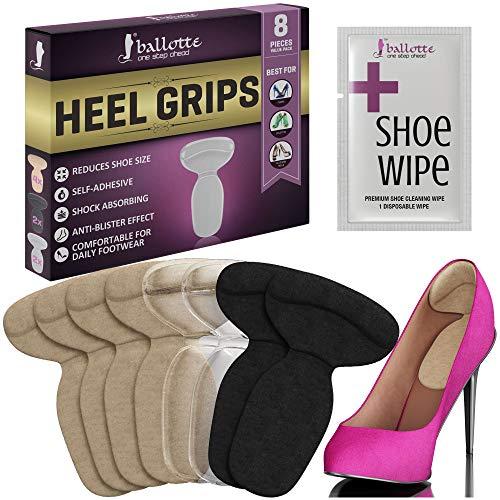 Fersenhalter für zu große Schuhe - Schuheinlagen aus Gel - Fersenpolster - Fersenschutz